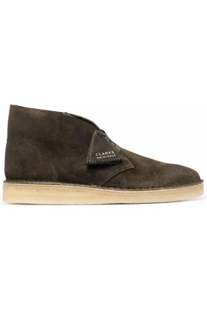 Clarks Suede ankle boots