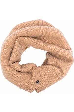 Aspesi Knitted snood scarf - Neutrals