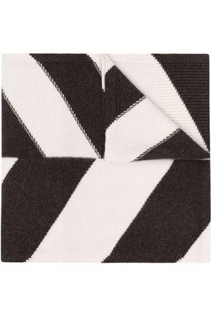 Joseph Stripe-knit merino scarf