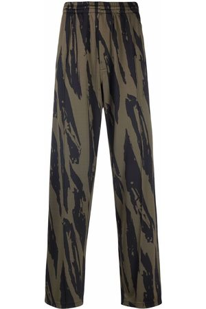 Kenzo Men Sweatpants - Tiger-print track pants