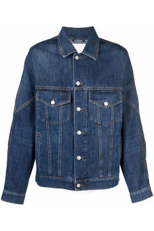 Kenzo Contrast-stitch denim jacket