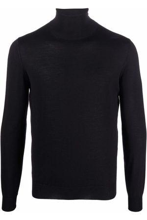 Lardini Fine-knit rollneck sweater