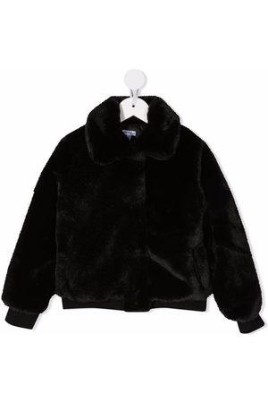 Piccola Ludo Faux-fur bomber jacket