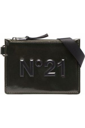 Nº21 Kids Bags - TEEN logo-plaque pouch