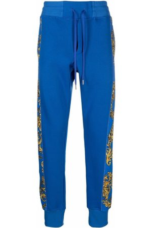 Versace Jeans Couture Baroque-print track pants