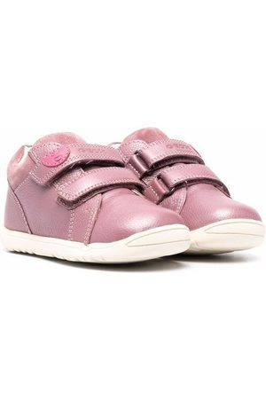 Geox Kids Girls Sneakers - Touch-strap low-top trainers