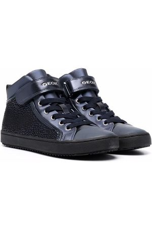 Geox Kids High-top lace-up trainers