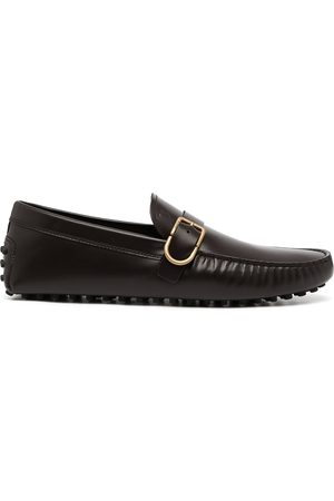 Tod's Gommino buckled leather loafers