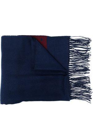 AGNÈS B. Dino fringed scarf