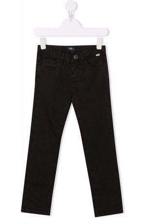 Il Gufo Boys Straight - Dark-wash straight-leg jeans