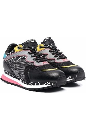 LIU JO Musical note-panel sneakers
