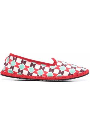 Vibi Venezia Women Loafers - Mosaic print loafer-slippers