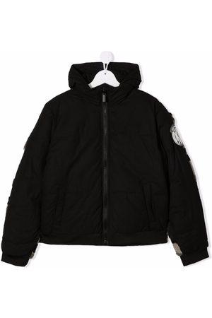 Dkny Kids Bomber Jackets - Camouflage-print bomber jacket