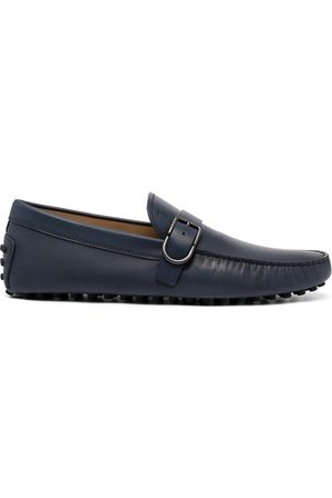 Tod's Men Loafers - Gommino buckle leather loafers