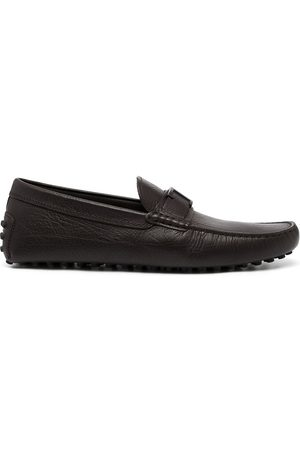 Tod's Men Loafers - Gommini leather penny loafers