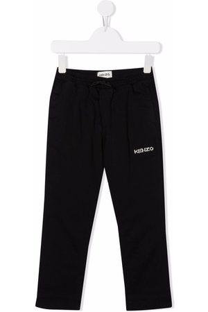 Kenzo Kids Boys Sweatpants - Logo-embroidered track pants