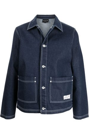 SPORT b. by agnès b. Men Denim Jackets - Denim worker jacket