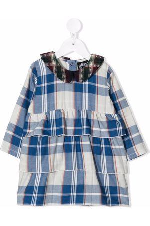 INFANTIUM VICTORIA Baby Printed Dresses - Check-print organic cotton dress