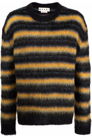 Marni Men Sweatshirts - Striped knitted jumper