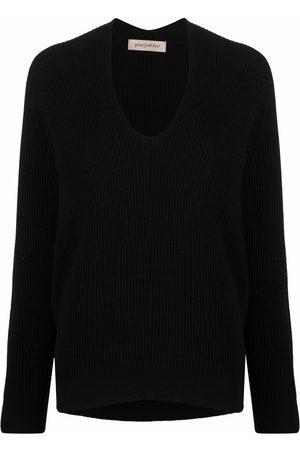 Gentry Portofino V-neck cashmere jumper