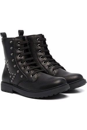 Geox Girls Ankle Boots - Eclair lace-up boots