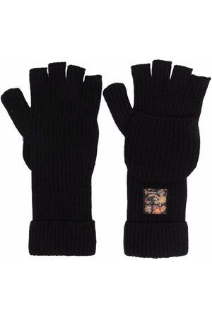 Emporio Armani Fingerless-design gloves