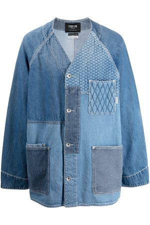 FIVE CM Patchwork denim jacket