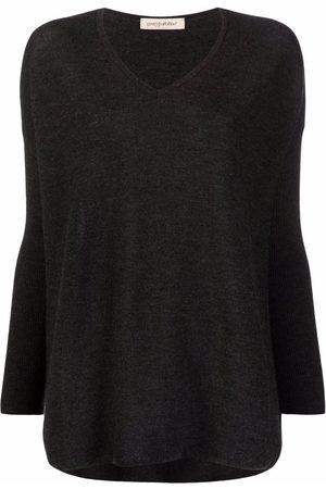 Gentry Portofino Fine-knit cashmere jumper - Grey