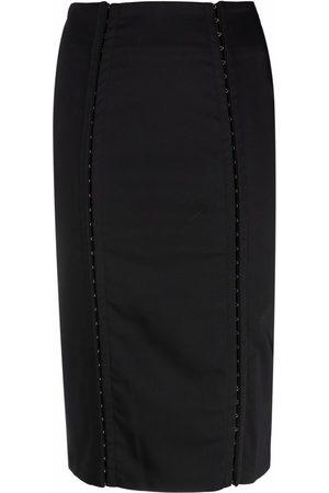 Murmur High-waisted pencil skirt
