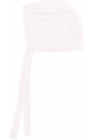 Il Gufo Front-tied knitted cap