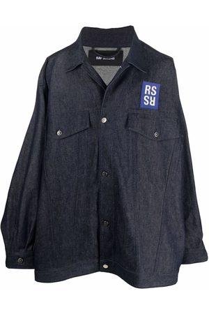 Raf Simons Logo-print denim shirt jacket
