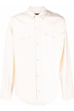 Alanui Men Shirts - Button-front shirt - Neutrals