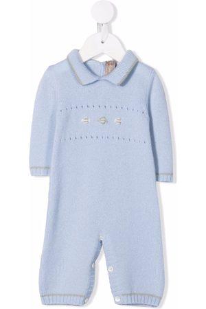 La Stupenderia Baby Rompers - Embroidered cashmere romper