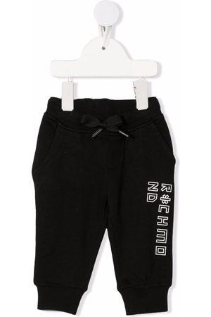 John Richmond Junior Baby Leggings - Logo lettering trousers