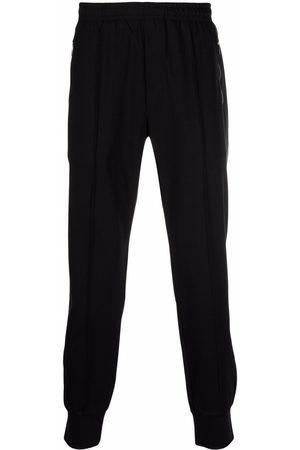 Emporio Armani Solid-colour slim-fit track pants