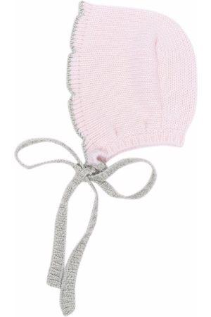 La Stupenderia Tie-fastening cashmere cap