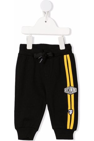 John Richmond Junior Baby Sweatpants - Side-stripe track pants
