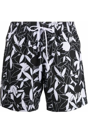 AMIRI Graphic-print swim shorts