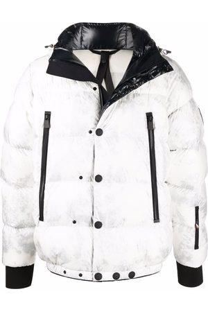 Moncler Grenoble Logo-patch padded jacket