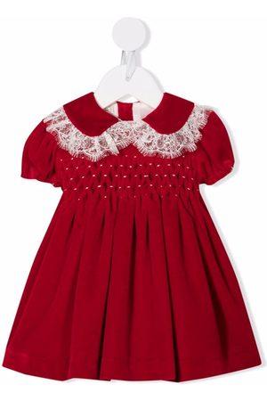 La Stupenderia Lace-trim midi dress