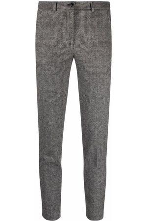 Seventy Women Skinny Pants - Checked skinny trousers