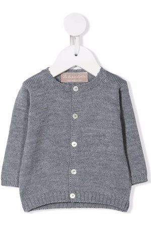 La Stupenderia Cardigans - Button-up cashmere cardigan - Grey