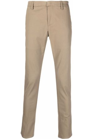 DONDUP Men Chinos - Slim-cut chino trousers - Neutrals