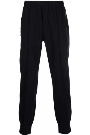 Emporio Armani Men Sweatpants - Side-zip pocket track pants