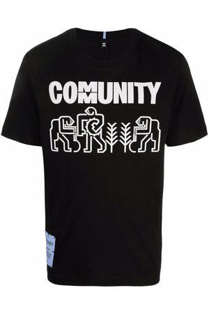 MCQ Men Short Sleeve - Graphic-print short-sleeve T-shirt