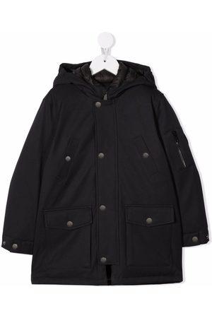 Bonpoint Boys Coats - Single-breasted hooded coat