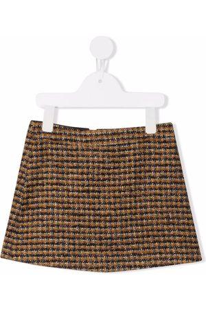 Bonpoint Girls Mini Skirts - Embroidered mini skirt