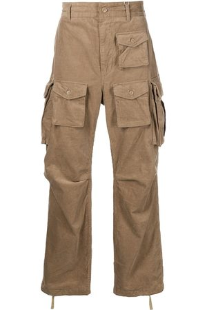 Engineered Garments Men Cargo Pants - FA straight-leg cargo trousers