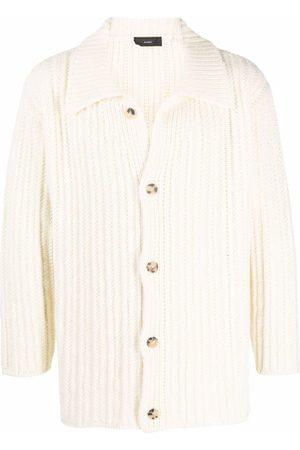 Alanui Men Long sleeves - Long-sleeve knitted cardigan