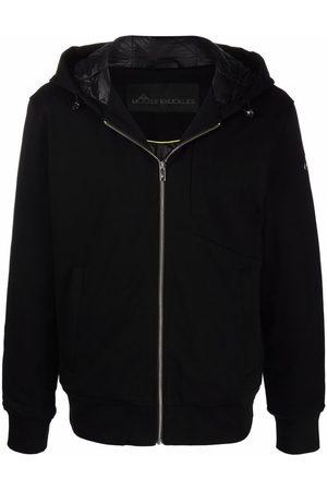 Moose Knuckles Graphic-print zip-up hoodie
